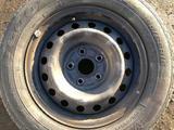 Диски штамповка Toyota 15 радиус 4шт + шины в пода