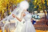 Красивое кружевное свадебное платье 42-46 размера