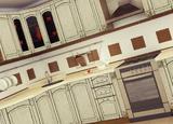 Кухонный гарнитур угловой Виктория (635ч)