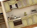 Кухонный гарнитур прямой Диана (632ч)